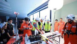 Пожарные учения прошли в ТЦ Central Phuket