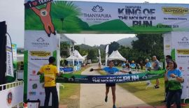 King of the Mountain Trail run