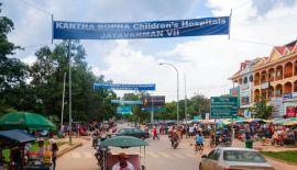 Сием-Рип – провинциальный городок с населением 140 тысяч человек, расположенный на северо-западе Камбоджи и особенно полюбившийся туристам в последние годы. Интерес связан с близким расположением храмового комплекса Ангкор