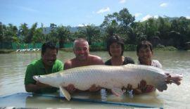Рыбалка на озере ТоpCats острова Самуи
